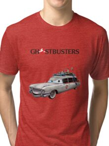 GHOSTBUSTERS CARS Tri-blend T-Shirt