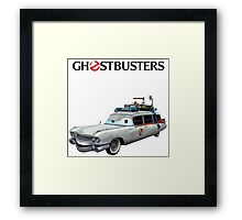 GHOSTBUSTERS CARS Framed Print