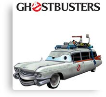 GHOSTBUSTERS CARS Canvas Print