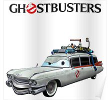 GHOSTBUSTERS CARS Poster