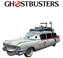 GHOSTBUSTERS CARS Photographic Print