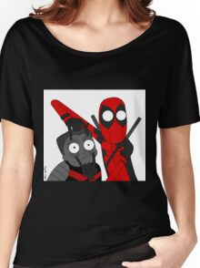 Deadpool and Colossus Women's Relaxed Fit T-Shirt