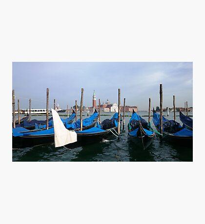 Gondola in  Venice Italy  Photographic Print