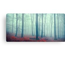 mute forest panorama Metal Print
