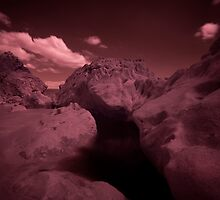Infra Red - Dark Pool by Mark Haynes Photography