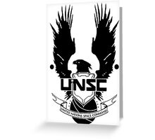 Halo UNSC Master Chief Greeting Card