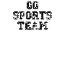 go sports team Photographic Print