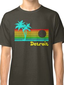 Tropical Detroit (funny vintage design) Classic T-Shirt