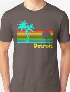 Tropical Detroit (funny vintage design) Unisex T-Shirt