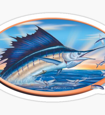 Sailfish Sunrise Sticker