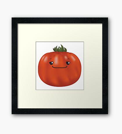 Slow Heirloom Tomato Framed Print