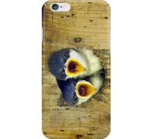Two Tree Swallow Chicks iPhone Case/Skin