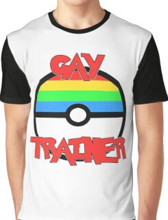 Pokemon - Gay Trainer Graphic T-Shirt