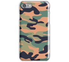 Military Camouflage Pattern 3 iPhone Case/Skin
