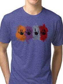 Prime Beams (Splatter) Tri-blend T-Shirt