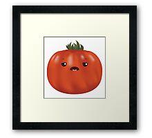 Tired Heirloom Tomato Framed Print