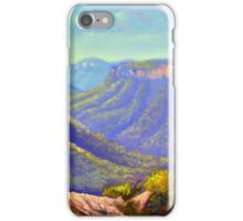 Govetts Leap Lookout, Blue Mountains iPhone Case/Skin