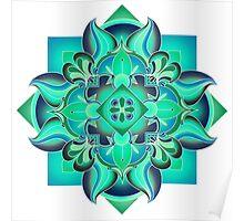 Pop Mandala Poster