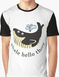 Whale Hello There Graphic T-Shirt