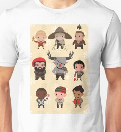 Dragon Age Christmas Unisex T-Shirt