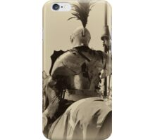 Knight In Shining Armor iPhone Case/Skin