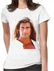 Yeah The Boys Fabio Womens Fitted T-Shirt