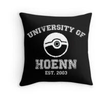University of Hoenn Throw Pillow