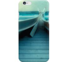 Row Boats At Pyramid Lake iPhone Case/Skin