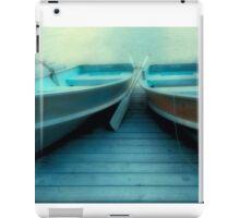 Row Boats At Pyramid Lake iPad Case/Skin