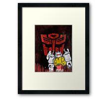 Grimlock Framed Print