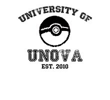 University of Unova Photographic Print