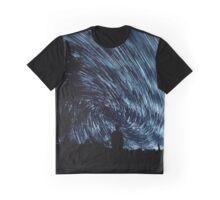 Night Swirls Graphic T-Shirt