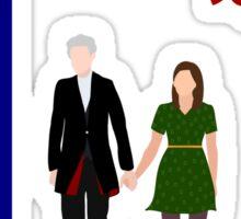 Twelve and Clara Sticker