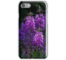 Purple Fireweed Jasper Canada iPhone Case/Skin
