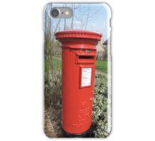 Huntingdon Postbox iPhone Case/Skin