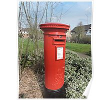 Huntingdon Postbox Poster