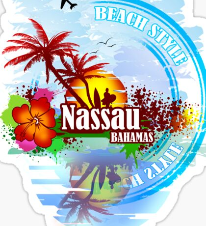 Nassau Bahamas  Sticker