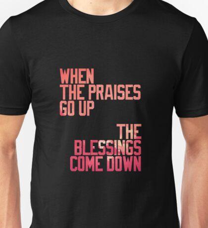 BLESSINGS. Unisex T-Shirt