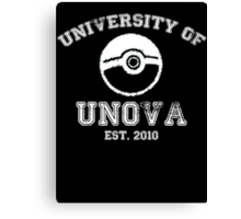 University of Unova Canvas Print