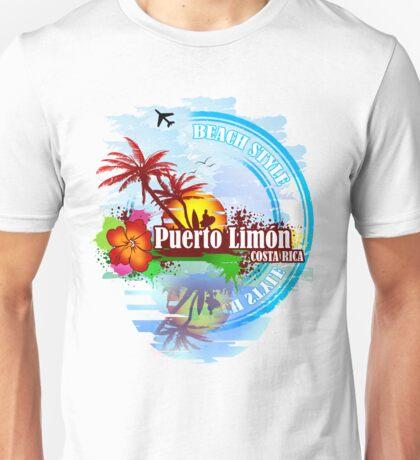 Puerto Limon Costa Rica Unisex T-Shirt