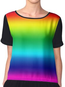 Beautiful Colorful Rainbow - Make a Wish Somewhere Over - Duvet Cover T-Shirt Skirt Chiffon Top