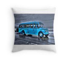 On The Buses Throw Pillow