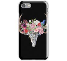 Skull & Flowers iPhone Case/Skin