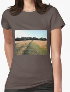 Golden Grasses: Path of Dreams Womens Fitted T-Shirt