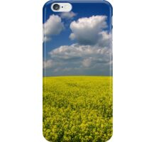 Yellow Fields Of Summer iPhone Case/Skin