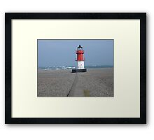 Winkie on the Beach Framed Print