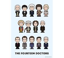 The Fourteen Doctors (print or poster) Photographic Print