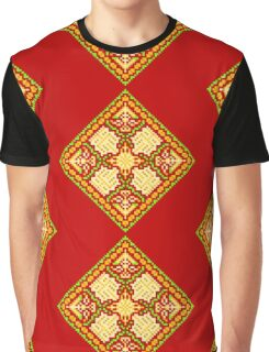 Baroque 3 Red Graphic T-Shirt