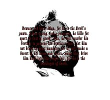 Beware The Beast Man (1) - Planet of the Apes Photographic Print
