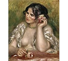 Renoir Auguste - Gabrielle With A Rose  Photographic Print